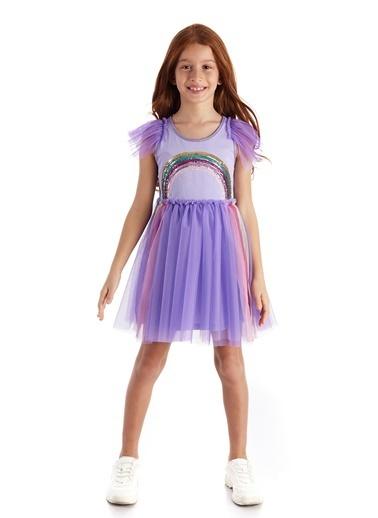 Colorinas Magic Rainbow Tutu Elbise Lila